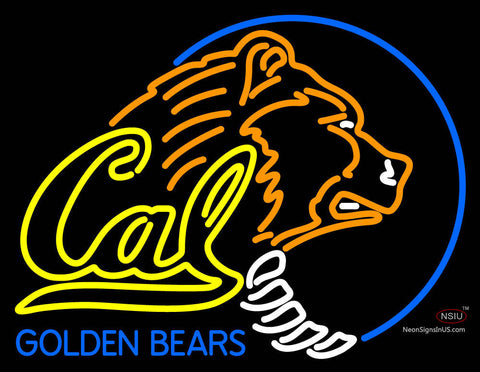 California Golden Bears Primary   Logo NCAA Neon Sign