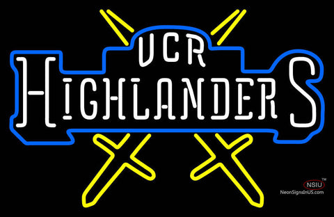 California Riverside Highlanders Alternate   NCAA Neon Sign