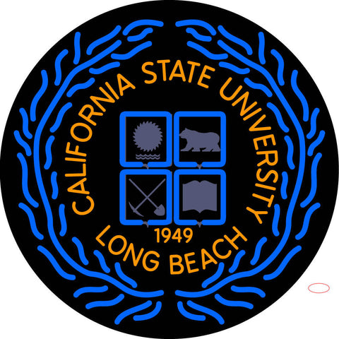 California State University Long Beach Neon Sign