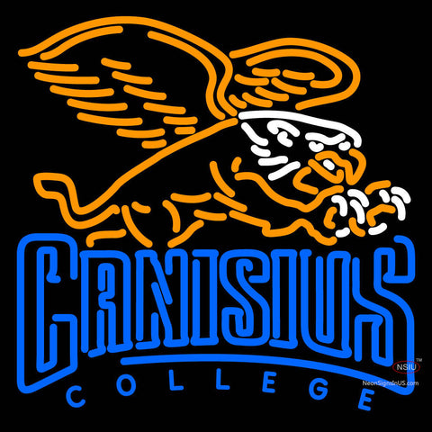 Canisius Golden Griffins Primary   Logo NCAA Neon Sign