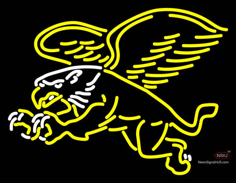 Canisius Golden Griffins Secondary   Logo NCAA Neon Sign