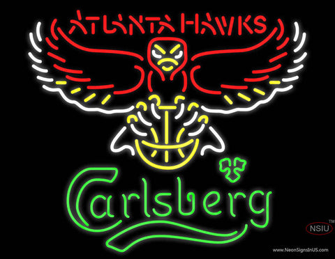 Carlsberg Atlanta Hawks NBA Neon Beer Sign