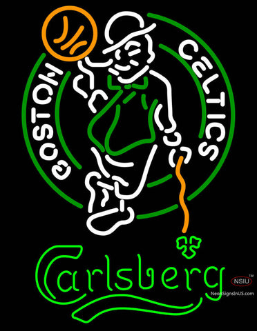 Carlsberg Boston Celtics NBA Neon Beer Sign