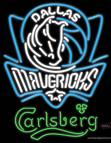 Carlsberg Dallas Mavericks NBA Neon Beer Sign