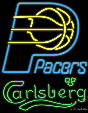 Carlsberg Indiana Pacers NBA Neon Beer Sign