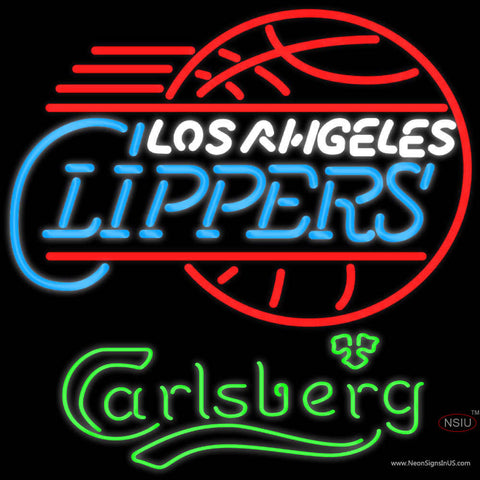 Carlsberg Los Angeles Clippers Neon Beer Sign