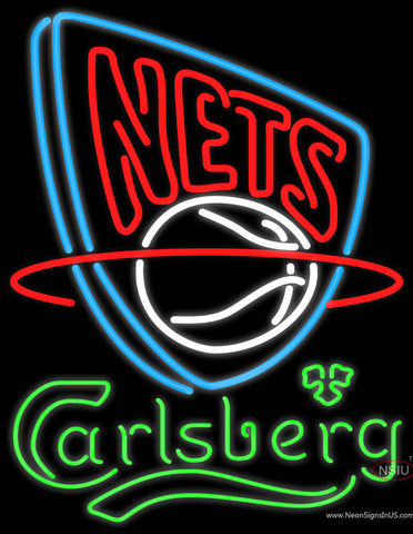Carlsberg New Jersey Nets NBA Neon Beer Sign