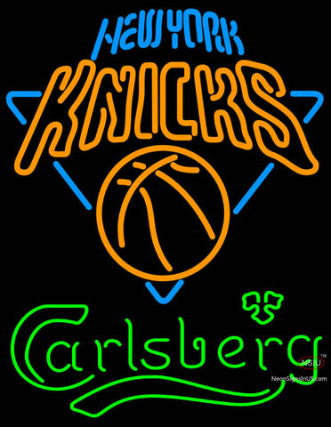 Carlsberg New York Knicks Neon Beer Sign