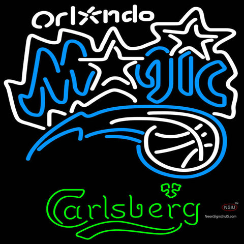 Carlsberg Orlando Magic NBA Neon Beer Sign