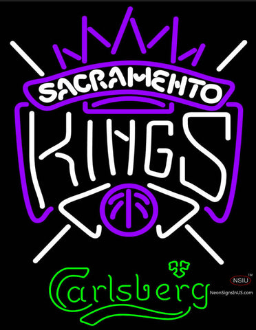 Carlsberg Sacramento Kings NBA Neon Beer Sign