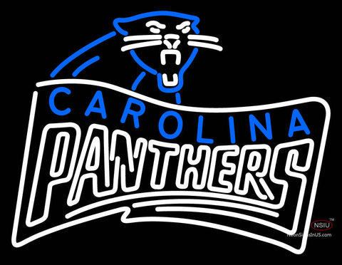 Carolina Panthers Alternate  Logo NFL Neon Sign