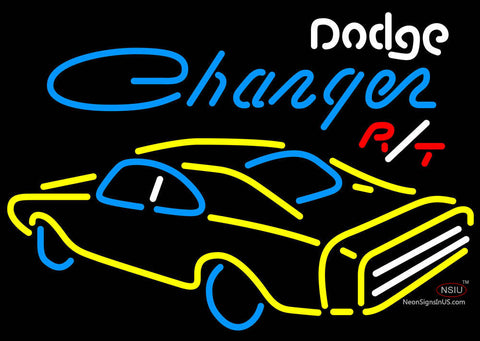 Challenger Dodge Rt Neon Sign