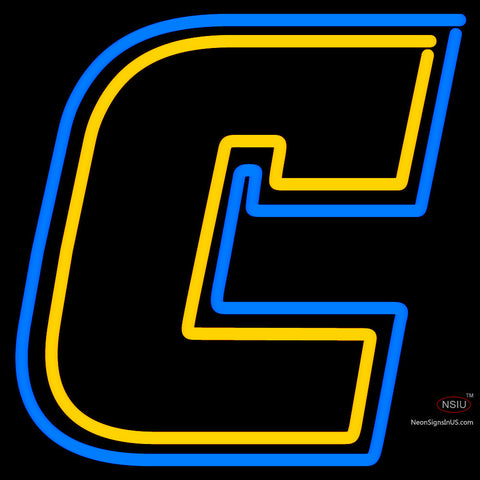 Chattanooga Mocs Primary  Pres Logo NCAA Neon Sign x