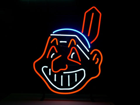 Cleveland Indians Neon Sign