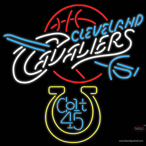 Colt  Cleveland Caveliers NBA Neon Beer Sign
