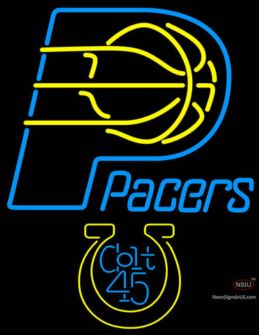 Colt  Indiana Pacers NBA Neon Beer Sign