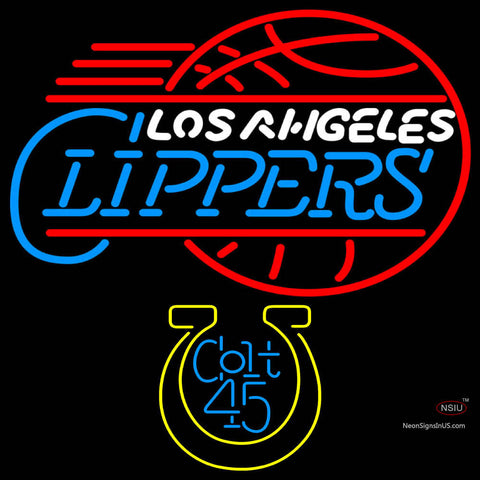 Colt  Los Angeles Clippers Neon Beer Sign
