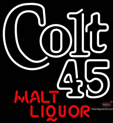 Colt  Malt Liquor Neon Beer Sign x