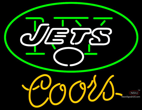 Coors Light New York Jets NFL Neon Sign