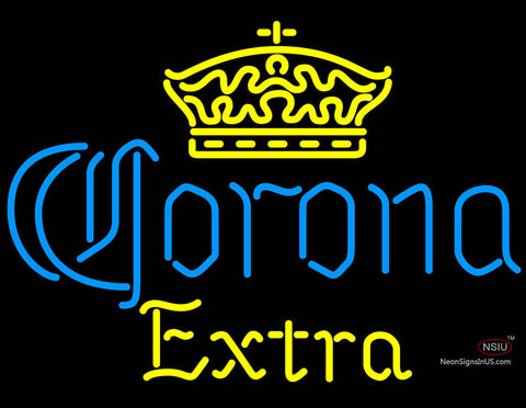 Corona Extra Crown Neon Beer Sign