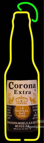 Corona Bottle Neon Beer Sign