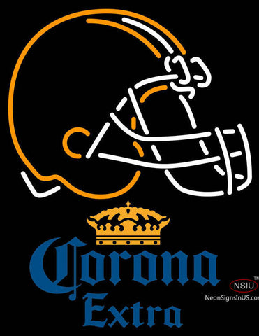 Corona Extra Cleveland Browns NFL Neon Sign