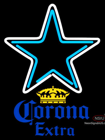 Corona Extra Dallas Cowboys NFL Neon Sign