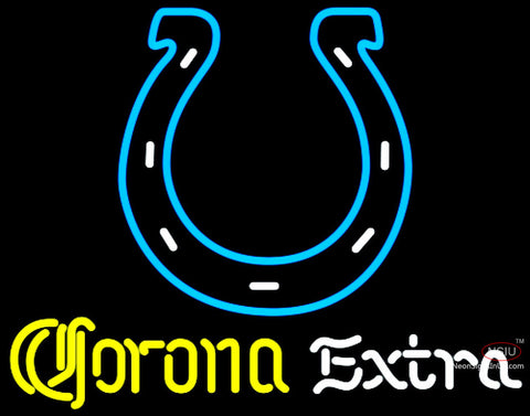 Corona Extra Neon Indianapolis Colts NFL Neon Sign