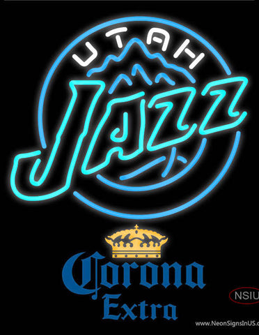 Corona Extra Utah Jazz NBA Neon Sign