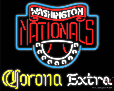 Corona Extra Washington Nationals MLB Neon Sign  7
