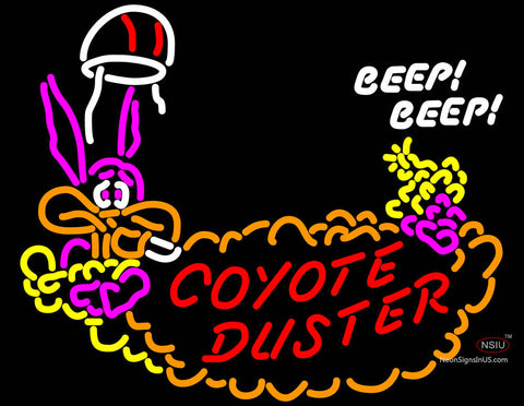 Coyote Duster Hemi  Mopar Roadrunner Neon Sign
