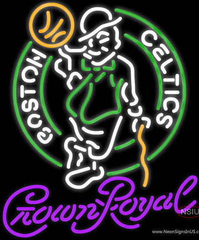 Crown Royal Boston Celtics NBA Neon Sign