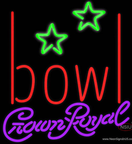 Crown Royal Bowling Alley Neon Sign   x