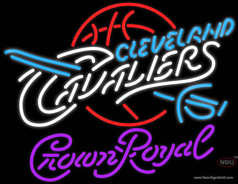 Crown Royal Cleveland Cavaliers NBA Neon Sign