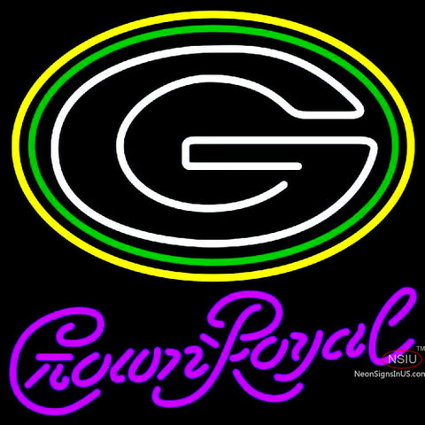 Crown Royal Green Bay Packers NFL Neon Sign   x
