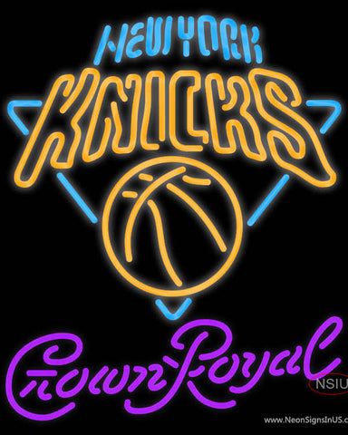 Crown Royal New York Knicks NBA Neon Sign