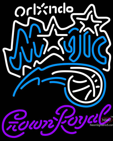 Crown Royal Orlando Magic NBA Neon Sign