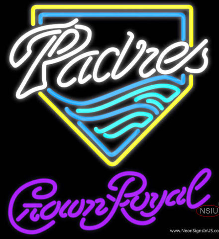 Crown Royal San Diego Padres MLB Neon Sign