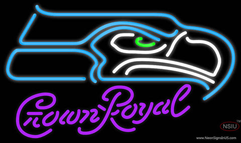 Crown Royal Seattle Seahawks NFL Neon Sign