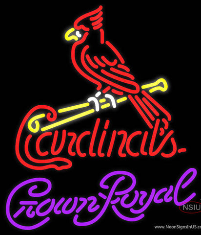 Crown Royal St Louis Cardinals MLB Neon Sign