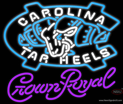 Crown Royal Unc North Carolina Tar Heels MLB Neon Sign  7