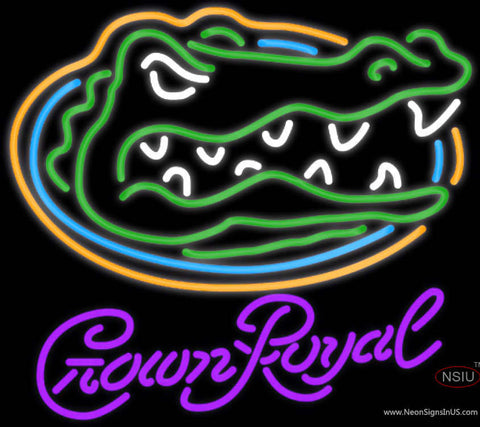 Crown Royal UNIVERSITY Of Florida Neon Sign
