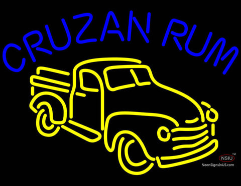 Cruzab Rum Bar Neon Sign