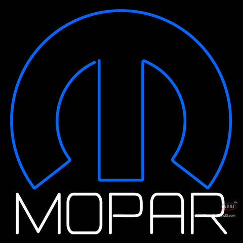 Mopar Logo Neon Sign
