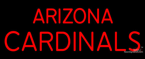 Custom Arizona Cardinals  Wordmark Logo Neon Sign