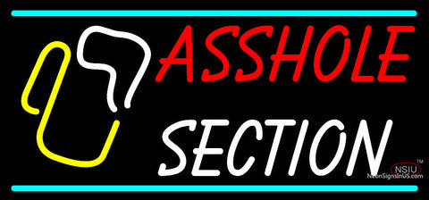 Custom Asshole Section Neon Sign