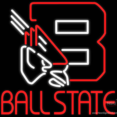 Custom Ball State Neon Sign