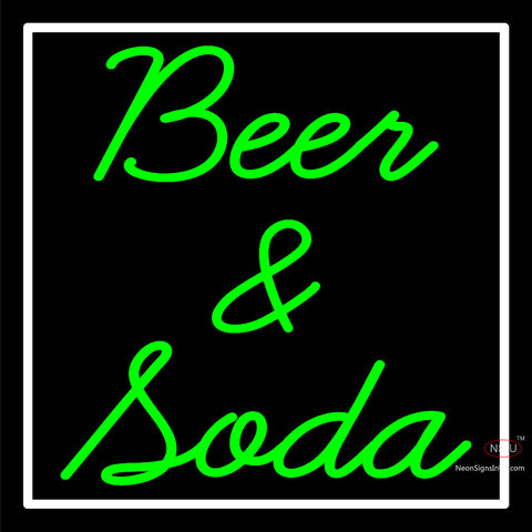 Custom Beer And Soda Neon Sign