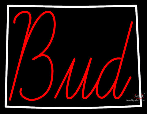 Custom Bud With Colorado Neon Sign