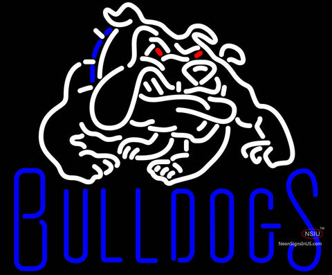 Custom Bulldogs Neon Sign